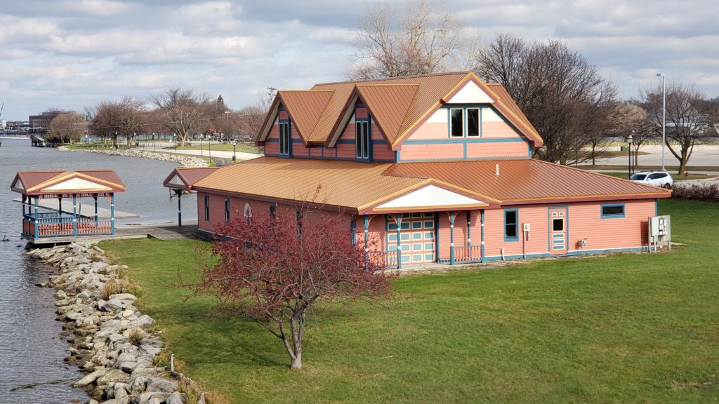 Boathouse Back View